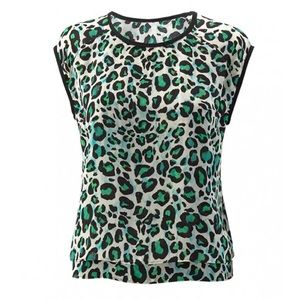 CAbi Cheetah Envy Jungle Print Sleeveless Top